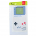 Game Boy Style Protective Back Skin Sticker for iPhone 4 - White