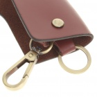 Universal Protective Leather Pouch Keychain for Car Remote Control