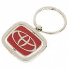 Stylish Alloy Keychain with Car Logo - Toyota
