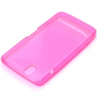 Protective Rubber Gel Silicone Back Case for Dell Streak Mini 5 - Pink