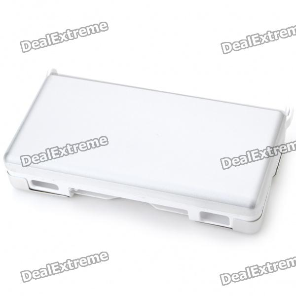 Protective Plastic Case with Aluminum Cover for NDSL - Silver
