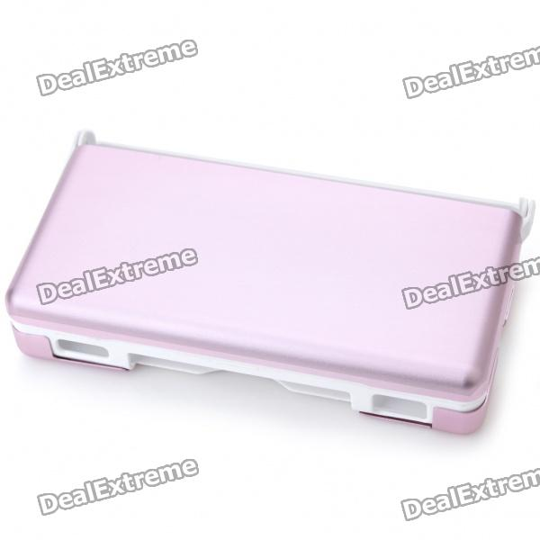 Protective Plastic Case with Aluminum Cover for NDSL - Pink