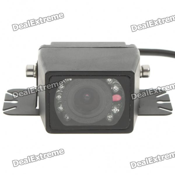 E327 Waterproof Vehicle Car Rear View Camera Video with 9-LED Night Vision (DC 12V/NTSC)