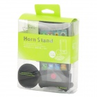 Horn Stand Amplifier Speaker for   Iphone 4 - Black