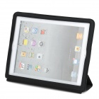 Ultrathin Protective Wake-Up/Sleep Smart Cover Case for iPad 2 - Black