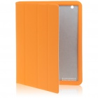 Ultrathin Protective Wake-Up/Sleep Smart Cover Case for iPad 2 - Orange