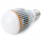 E27 7W 600Lumen 3000-3200K Warm White LED Light Bulb (85~265V)