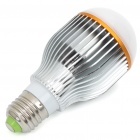 E27 7W 600Lumen 3200K Warm White Light LED Globular Bulb (85~265V)