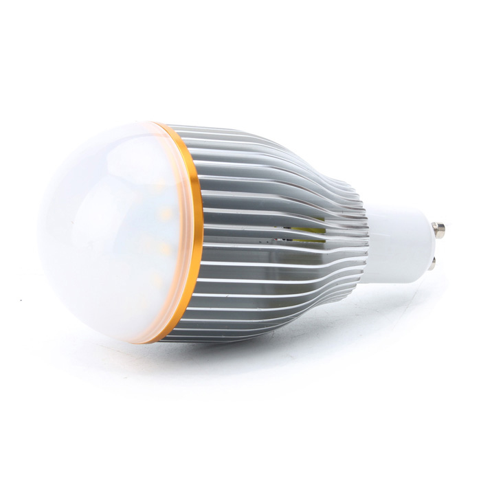 GU10 7W 600Lumen 3000-3200K Warm White LED Light Bulb (85~265V)