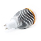 GU10 7W 600Lumen 3200K Warm White Light LED Globular Bulb (85~265V)