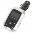 "1.0"" LCD Car MP3 Player FM Transmitter with Remote Controller - Silver (SD/TF/USB)"