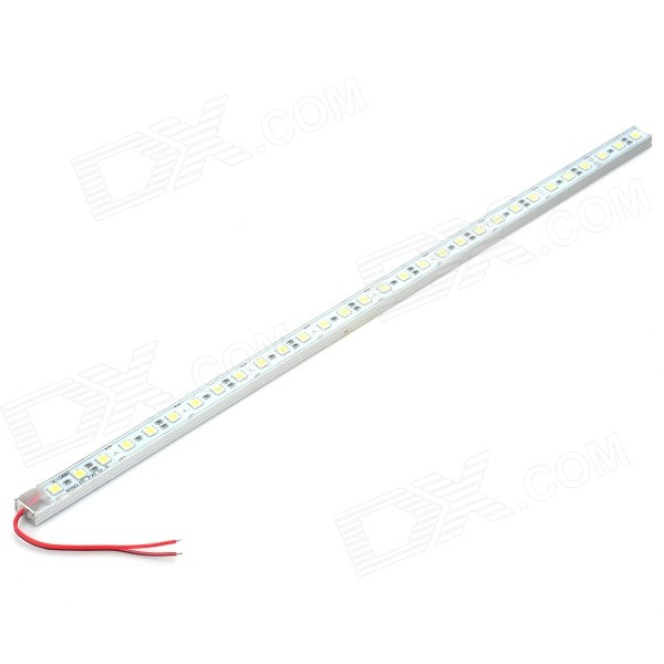 White 30-LED 7500-8500K 480-510LM Aluminum Alloy Water Resistant LED Light Bar (12V/15CM-Cable)