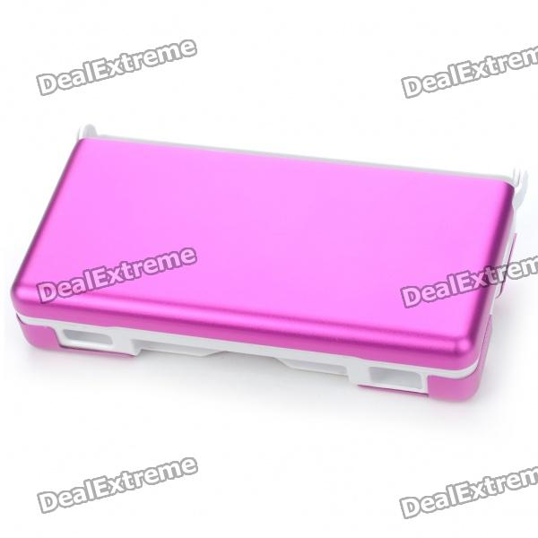 Protective Plastic Case with Aluminum Cover for NDSL - Peach Blossom
