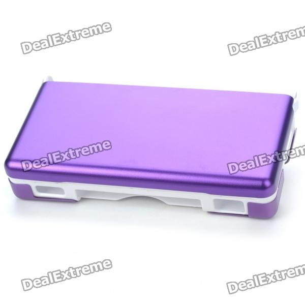 Protective Plastic Case with Aluminum Cover for NDSL - Purple