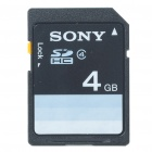 Genuine Sony SD Memory Card - 4GB (Class 4)