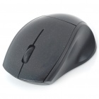 2.4GHz Wireless 800DPI USB Optical Mouse w/ Receiver - Black (1 x AAA)