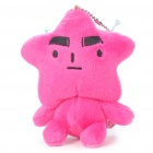 Starfish Figure Toy with Suction Cup - Rose Red