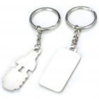 Zinc Alloy Lovers Keychains (Bulb & Socket / 2-Piece Set)