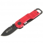 Cool Stainless Steel + Aluminum Folding Knife with Open & Clip - Color Assorted