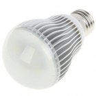 E27 5W 430Lumen 6500-7000K White LED Light Bulb (AC 85~265V)