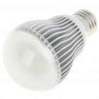 E27 5W 400Lumen 3000-3200K Warm White LED Light Bulb (AC 85~265V)