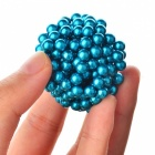 4.8~5mm Neodymium NIB Magnet Spheres with Steel Case - Blue (216-Piece Pack)