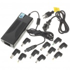 Universal 100W AC Power Adapter Charger with 10 Adapters for Laptop/Notebook (AC 100-240V)