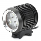 MagicShine MJ-870 Waterproof 3-CREE XP-G 4-Mode 1200-Lumen LED Bike Light with Battery Pack Set