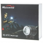 MagicShine MJ-870 Waterproof 4-Mode 1200-Lumen LED Bike Light w / 3-CREE XP-G / Battery Pack Set