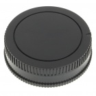 Camera Body + Rear Lens Cap Cover Set for Sony DSLR Camera
