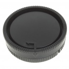 Cap Lens Camera Corpo + Rear Cover Set para Sony DSLR Camera