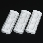 Drawer Style M2 Memory Card Case For Sony PSP Go - White