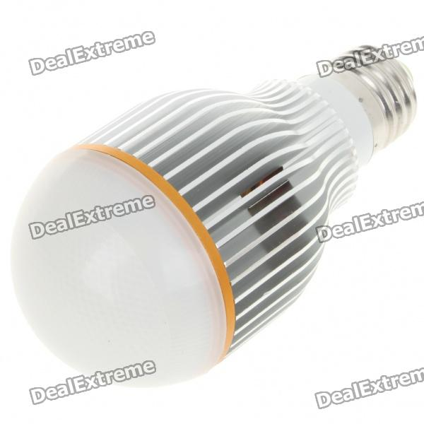 E27 7W 600LM 7000K Cool White Light 7-LED Globular Bulb (AC 85~265V)
