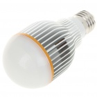 E27 7000K 7W 600-Lumen 7-LED White Light Bulb (AC 85~265V)