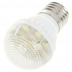 E27 6000K 3W 180-Lumen 15-LED White Light Bulb (AC 220V)