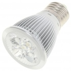 E27 5W 6500K 450-Lumen 5-LED White Light Bulb (85~265V)