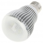 E27 5W 7000K 430-Lumen 5-LED White Light Bulb (AC 85~265V)