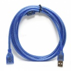 USB 2.0 Male to Female M/F Extension Cable - Blue (3M-Length)