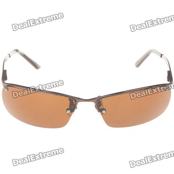 Designer's Sunglasses with UV400 UV Protection High-Nickel Alloy Frame Polarizing Resin Lens