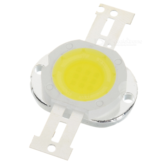 10W 700LM 7000K Cold White LED Metal Plate Module (9~11V)
