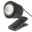USB Powered 1W 6000K 100-Lumen Bright White LED Clip Style Reading Light