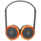 i58 Sport MP3 Player + Bluetooth Headset w/ FM/TF - Black + Orange