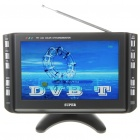 "Portable 9"" LCD DVB-T TV Monitor with AV In & Out + USB/VGA/SD/MS/MMC Slot (PAL/NTSC/SECAM)"