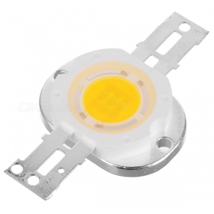 5W 3500K 250LM Warm White LED Emitter Metal Plate (6~7V)