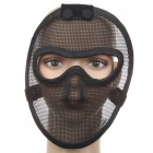 Full Face Steel Metal Mesh Mask (Color Assorted)