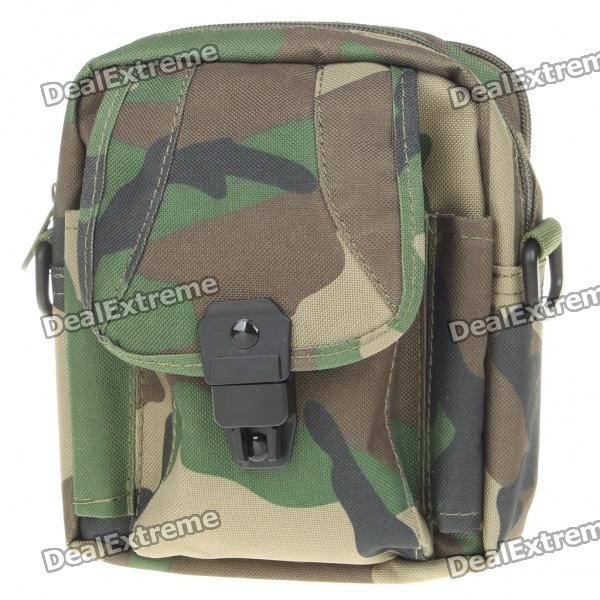 Military Utility Polyester Shoulder/Waist Bag (Color Assorted)