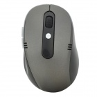 2.4GHz Wireless 500/1000DPI USB Optical Mouse w/ Receiver - Black (1 x AA)