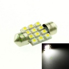 31mm 50lm White Car Bulb 