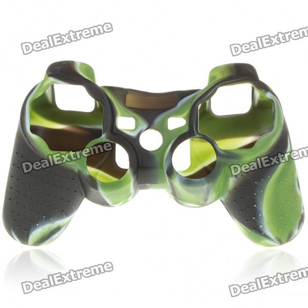 Camouflage Pattern Silicone Protective Case for PS2 and PS3 Controller protective silicone case for xbox one controller camouflage green