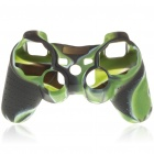 Camouflage Pattern Silicone Protective Case for PS2 and PS3 Controller